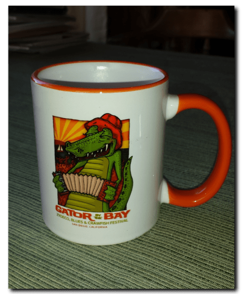 Gator By The Bay Mug-2017